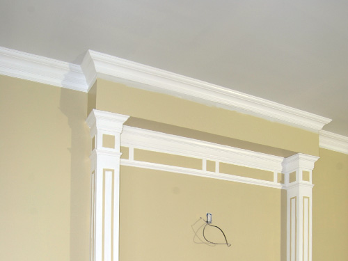 Carpentry Crown Base Moldings Chair Rails Coffered