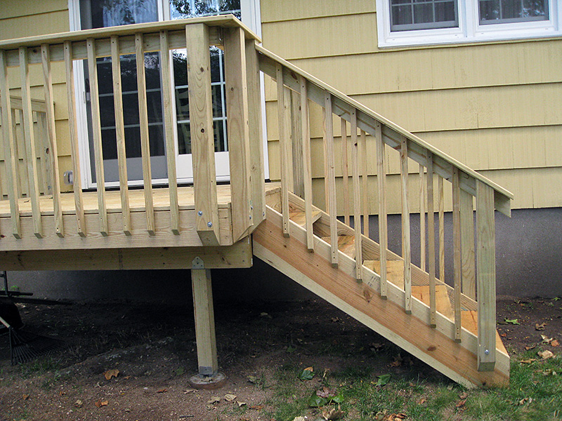 Deck installation renovation maintenance in north nj - Things consider installing balcony home ...