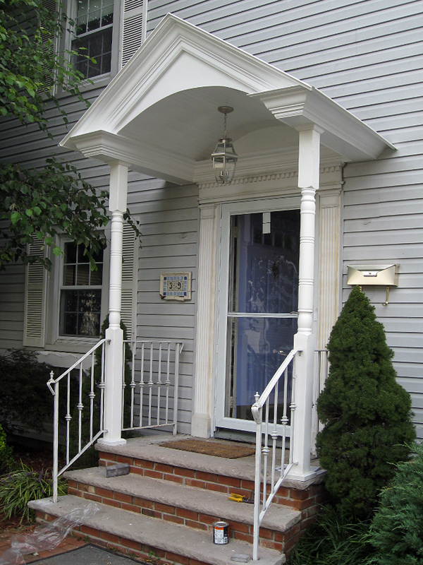 Custom Entry Ways Entrances And Porticos In North Nj