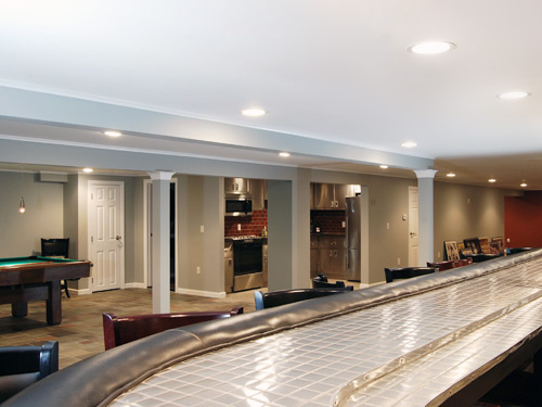 Remodeling Basements Finished Basement Remodel Renovation In Wayne And Montville Nj