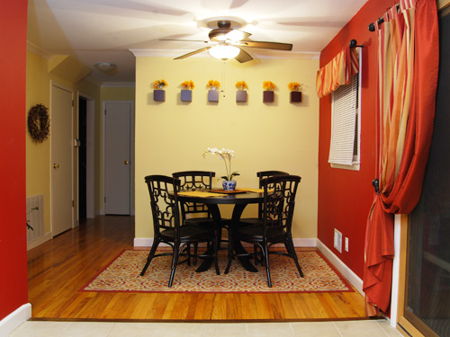updated-kitchen-breakfast-area Painted Kitchen Cabinets Remodeling Home on diy projects kitchen cabinets, home design kitchen cabinets, new construction kitchen cabinets, interior painting kitchen cabinets,