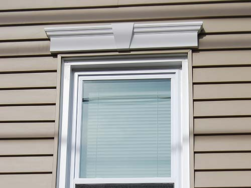 Vinyl Exterior Window Trim : Vinyl siding installation saddle brook nj